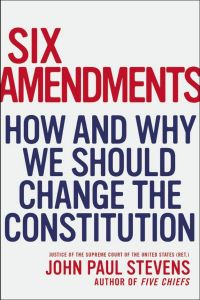 Six Amendments -- But there's one that should be TOP priority