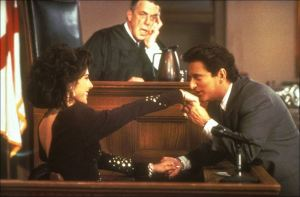 "Now THAT'S a great expert witness!  Joe Pesci finishes his direct examination of Marisa Tomei in ""My Cousin Vinny"" - #3 on the ABA's list of Top 25 Movies on The Law"